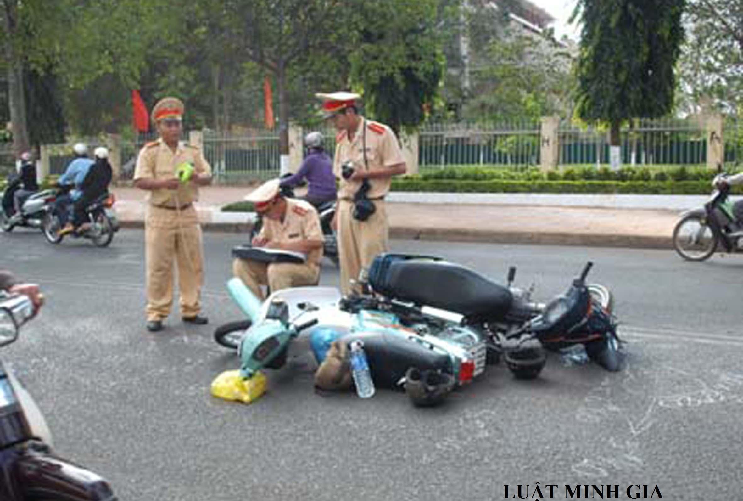 Tư vấn về trường hợp tham gia giao thông gây tai nạn chết người