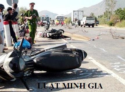 Tư vấn chế độ chịu trách nhiệm khi gây tai nạn giao thông