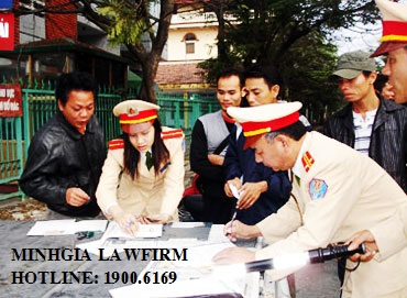 Quy định về tạm giữ giấy tờ tiến hành xử phạt hành chính