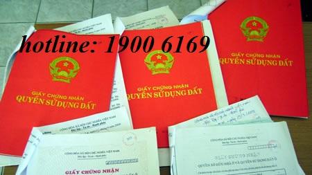 Xin cấp giấy chứng nhận quyền sử dụng đất do nhận chuyển nhượng từ năm 1996