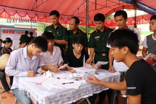 Quyền lợi khi đăng ký và thời hạn thực hiện nghĩa vụ quân sự