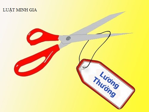 Xử lý kỷ luật lao động bằng hình thức khiển trách, cắt tiền thưởng