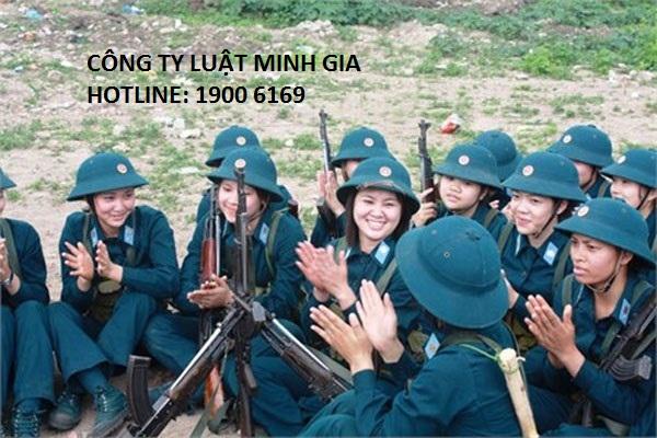 Điều kiện để tham gia nghĩa vụ quân sự đối với nữ