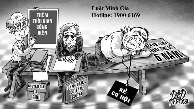 Hỏi về chế độ nghỉ hưu hiện nay theo Luật BHXH 2014