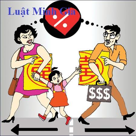 Chia tài sản và các khoản nợ ngân hàng sau khi ly hôn