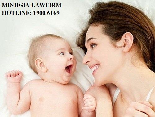 Thủ tục đăng ký nhận con và thay đổi họ của con theo họ cha đẻ