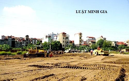 Chuyển mục đích sử dụng đất khi chưa có kế hoạch sử dụng đất hằng năm