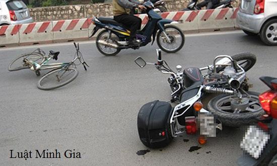 Hỏi về tai nạn giao thông và cấp dưỡng cho con bị hại?