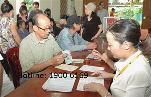 Trợ cấp hàng tháng cho người cao tuổi