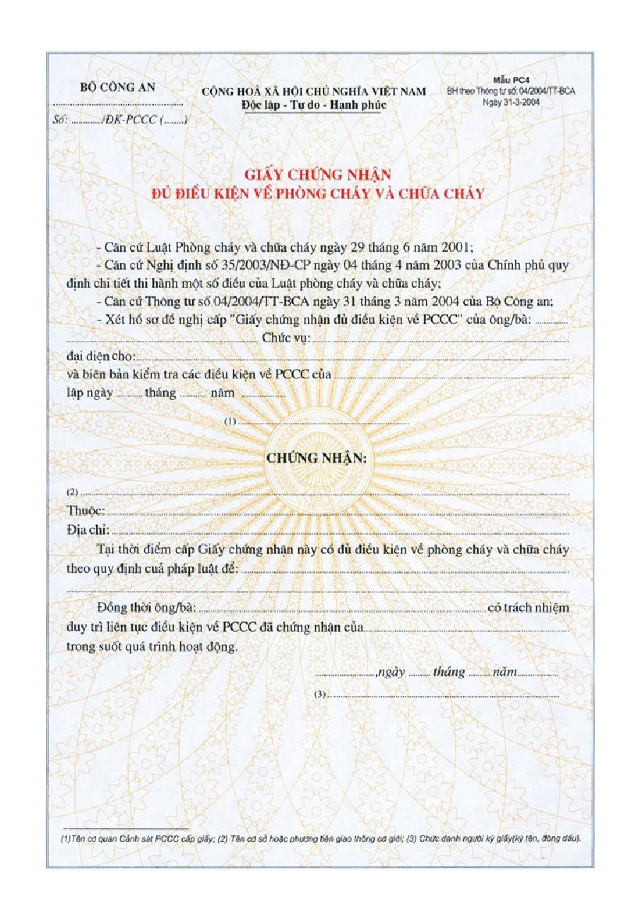 Xử phạt khi không có giấy chứng nhận đủ điều kiện ANTT