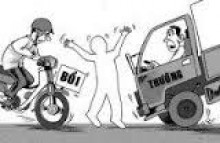 Hỏi về trẻ dưới 18 tuổi gây tai nạn giao thông