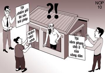 Tư vấn về hành vi chiếm giữ trái phép tài sản