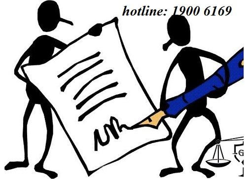 Tư vấn về hành vi giả mạo chữ ký