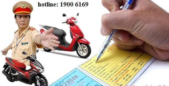 Xử phạt hành chính đối với một số hành vi vi phạm luật giao thông đường bộ.
