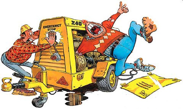 Người lao động bị tai nạn lao động trong trường hợp không có hợp đồng.