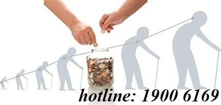 Trung bình tiền lương để hưởng lương hưu.
