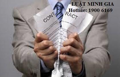 Tư vấn về trường hợp muốn đơn phương chấm dứt hợp đồng lao động