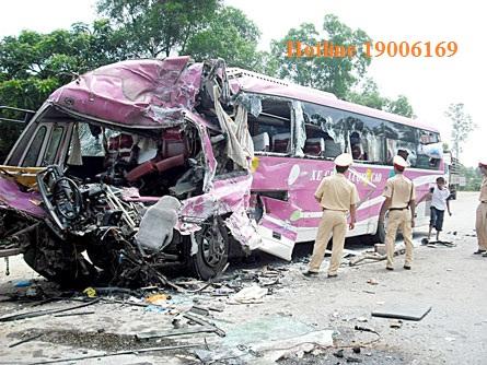 Mức bồi thường thiệt hại khi gây tai nạn giao thông.