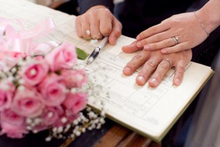 Hỏi về nơi đăng ký kết hôn