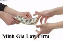 Chế tài đối với người vay tiền không trả.