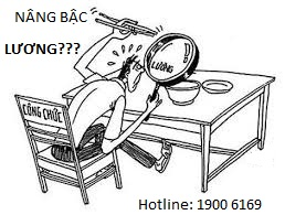 Thời gian hợp đồng có được tính nâng bậc lương khi là công chức không?