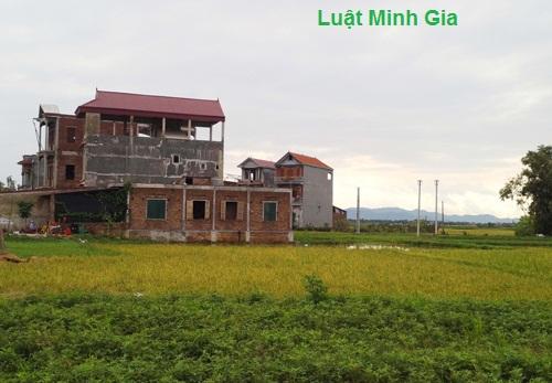 Có được phép xây nhà trên đất nông nghiệp ?