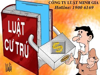 Đăng kí thường trú vào thành phố Đà Nẵng, Tp Hồ Chí Minh