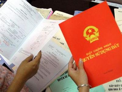 Hồ sơ sang tên sổ đỏ và cấp sổ đỏ lần đầu