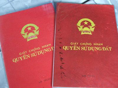 Thủ tục cấp lại giấy chứng nhận QSDĐ do bị mất?