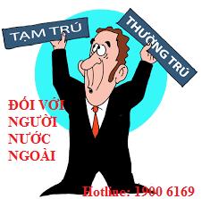 Cho người nước ngoài ở trọ và xử phạt hành chính khi không gia hạn thẻ tạm trú.
