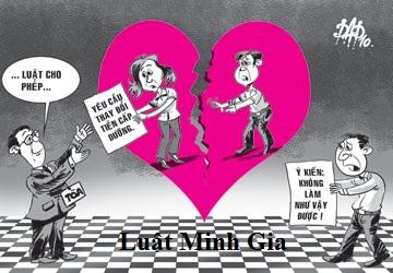 Thi hành án nghĩa vụ cấp dưỡng giữa vợ và chồng sau khi ly hôn.