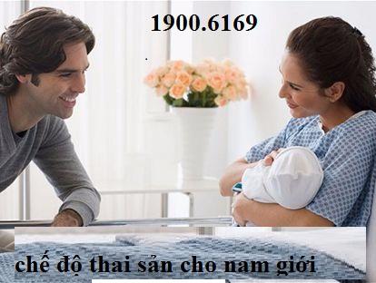 Chế độ thai sản đối với lao động nam khi vợ sinh con