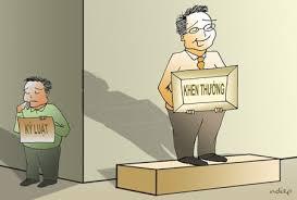 Kỷ luật cán bộ, công chức và Đảng viên.