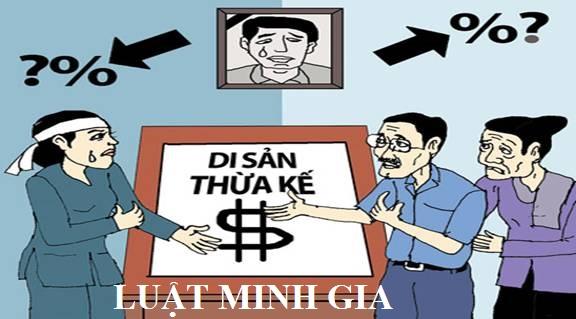 Phân chia di sản thừa kế theo pháp luật dân sự năm 2015