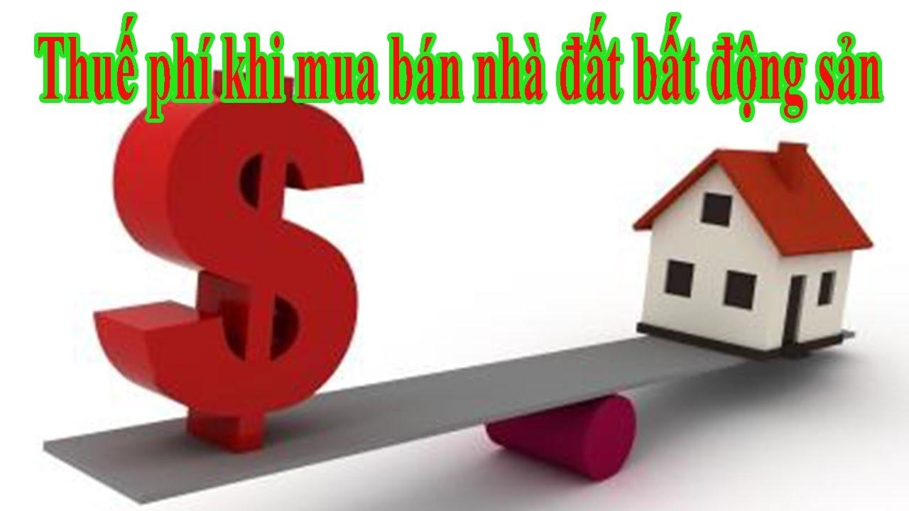 Tư vấn thuế phải nộp khi bán nhà đất đồng sở hữu