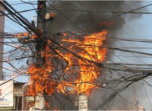 Bồi thường thiệt hại khi chập cháy điện dẫn đến hư hỏng tài sản