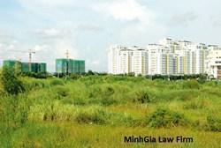 Thuế sử dụng đất khi giải phóng mặt bằng