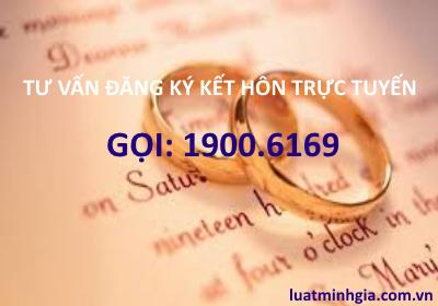 Tư vấn đăng ký kết hôn trực tuyến qua tổng đài điện thoại