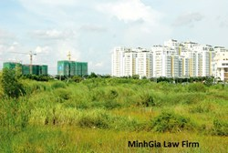 Yêu cầu dừng việc thế chấp quyền sử dụng đất là tài sản đã chuyển nhượng nhưng chưa tách sổ đỏ.