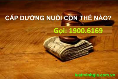 Luật sư tư vấn nghĩa vụ cấp dưỡng nuôi con khi ly hôn qua điện thoại