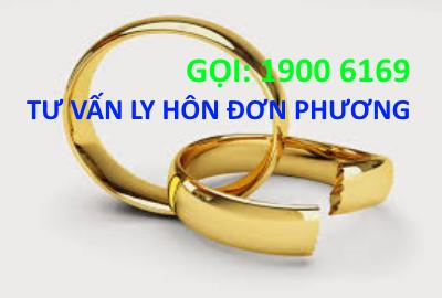 Tư vấn Thủ tục Đơn phương ly hôn qua tổng đài 19006169