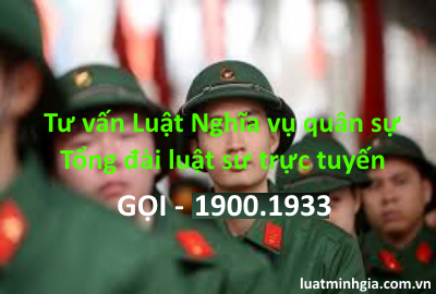 Tư vấn đăng ký nghĩa vụ quân sự, miễn đăng ký NVQS qua điện thoại