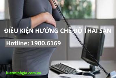 Tư vấn điều kiện hưởng chế độ thai sản, thủ tục hưởng bảo hiểm thai sản trực tuyến