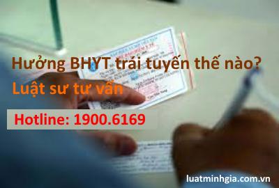 Tư vấn chế độ, thủ tục và điều kiện hưởng BHYT trái tuyến, vượt tuyến trực tuyến