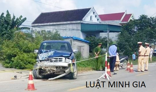 Điều khiển ô tô vô tình đâm chết người