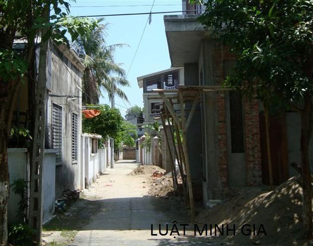 Tư vấn về tranh chấp đất đai với cộng đồng dân cư sử dụng đất