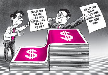 Vấn đề trả lương và ký kết hợp đồng lao động