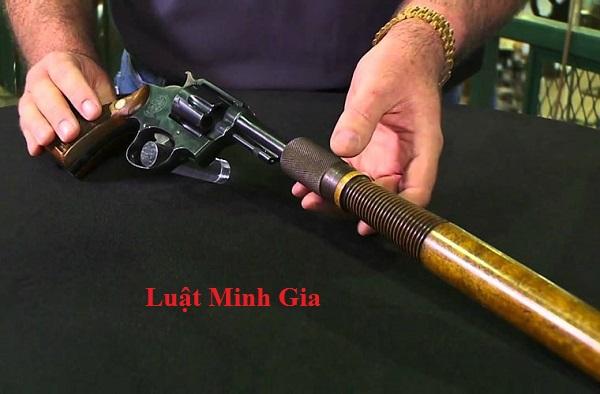 Chế tạo súng hơi sẽ bị xử lý như thế nào