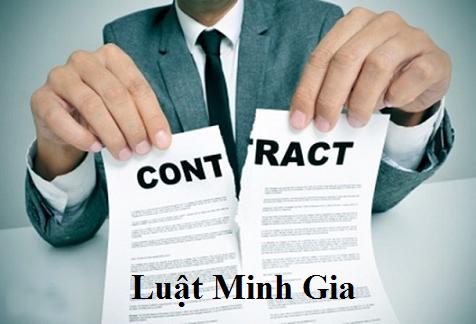 Tư vấn về trường hợp điều khoản của HĐLĐ vô hiệu và việc đơn phương chấm dứt hợp đồng lao động
