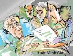 Người lập di chúc giả mạo có được hưởng di sản thừa kế theo pháp luật?